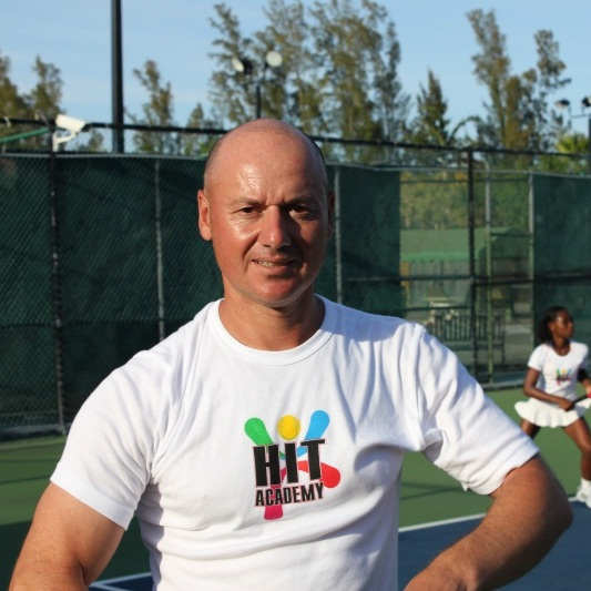 Tennis Academy coach philip