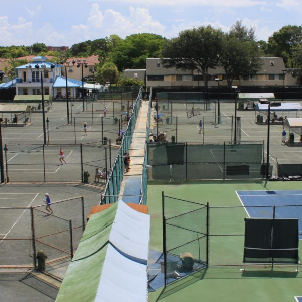 Tennis School HIT courts all