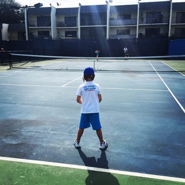 Tennis Academy in Florida HIT Player Practice