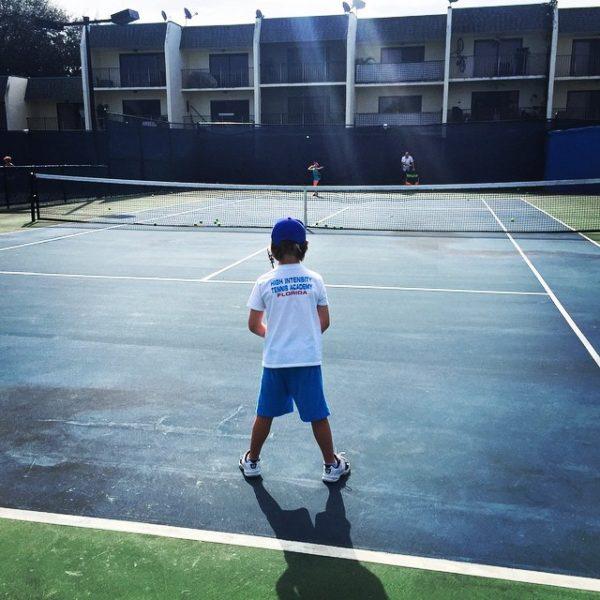 Tennis Academy in Florida HIT Player Practice