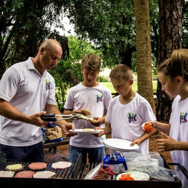 Tennis Academy in Florida cooking