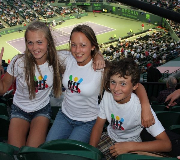Tennis Academy in Florida picture in match