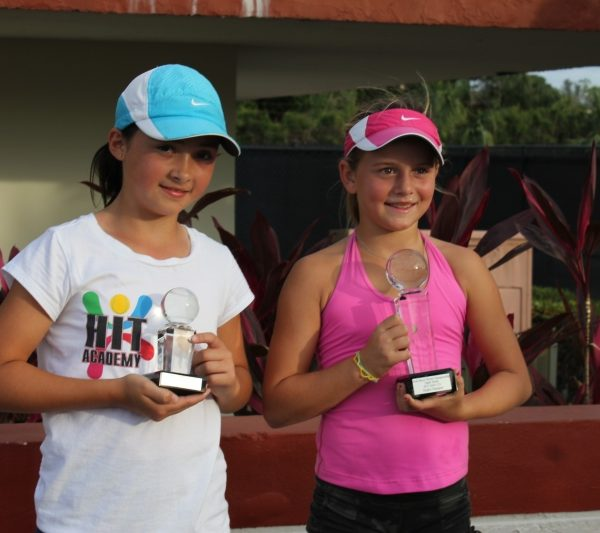 Tennis Academy in Florida players with trophy