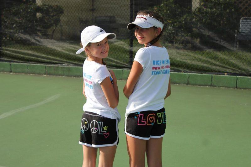 Tennis Academy kids posing
