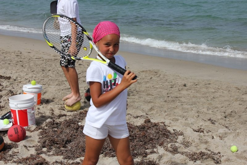 Tennis Academy tennis on the beach