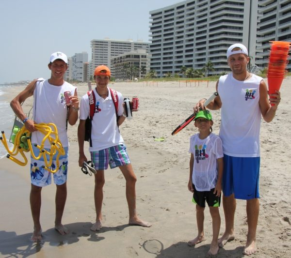 Tennis Camps Summer fun at beach