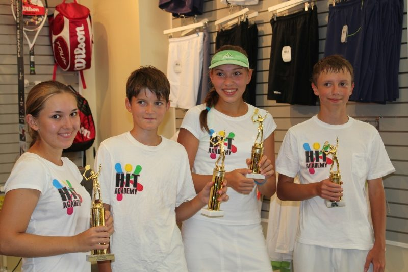 Tennis School academy winners