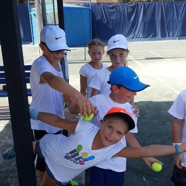Tennis School Accomodations before practice fun