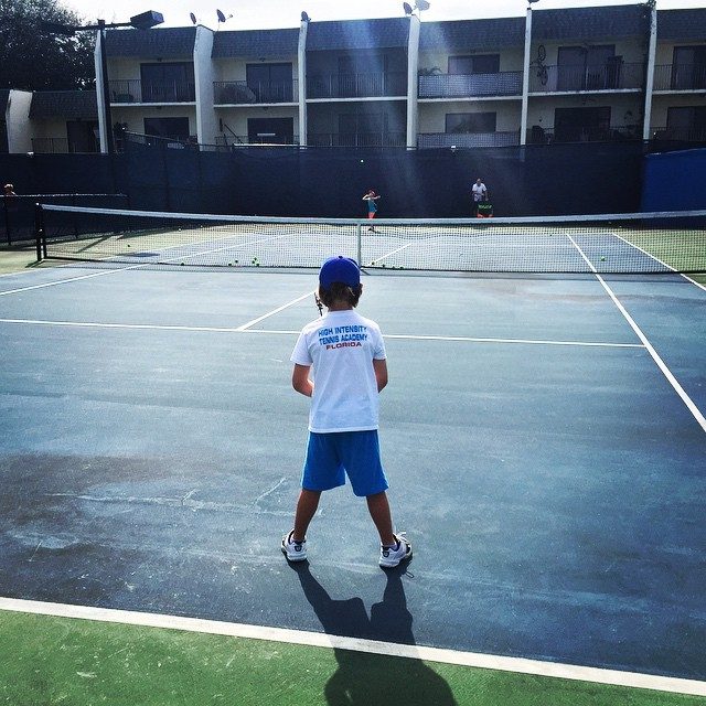 Tennis Tution kid get training
